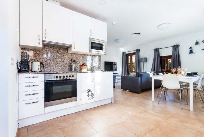 Borne-Suites-Apartamento-Ático-Terraza-Palma-de-Mallorca-Cocina