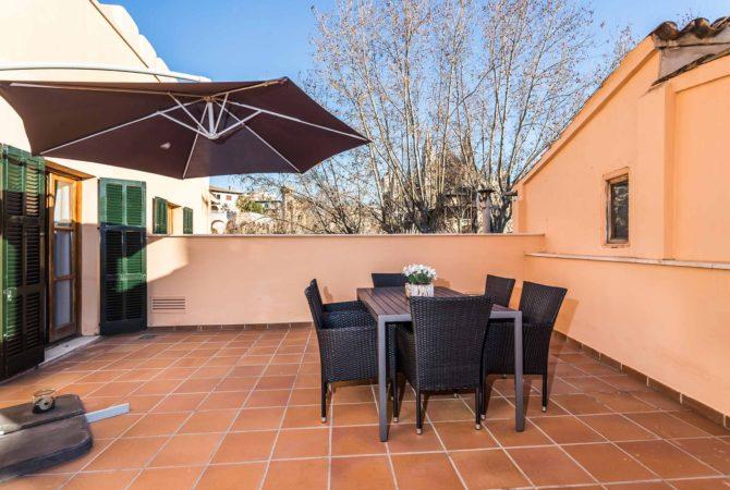 Borne-Suites-Apartamento-Ático-Terraza-Palma-de-Mallorca-Terraza-1