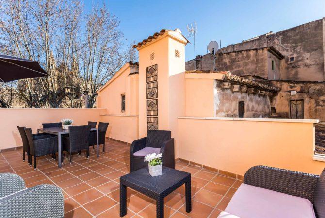 Borne-Suites-Apartamento-Ático-Terraza-Palma-de-Mallorca-Terraza-2