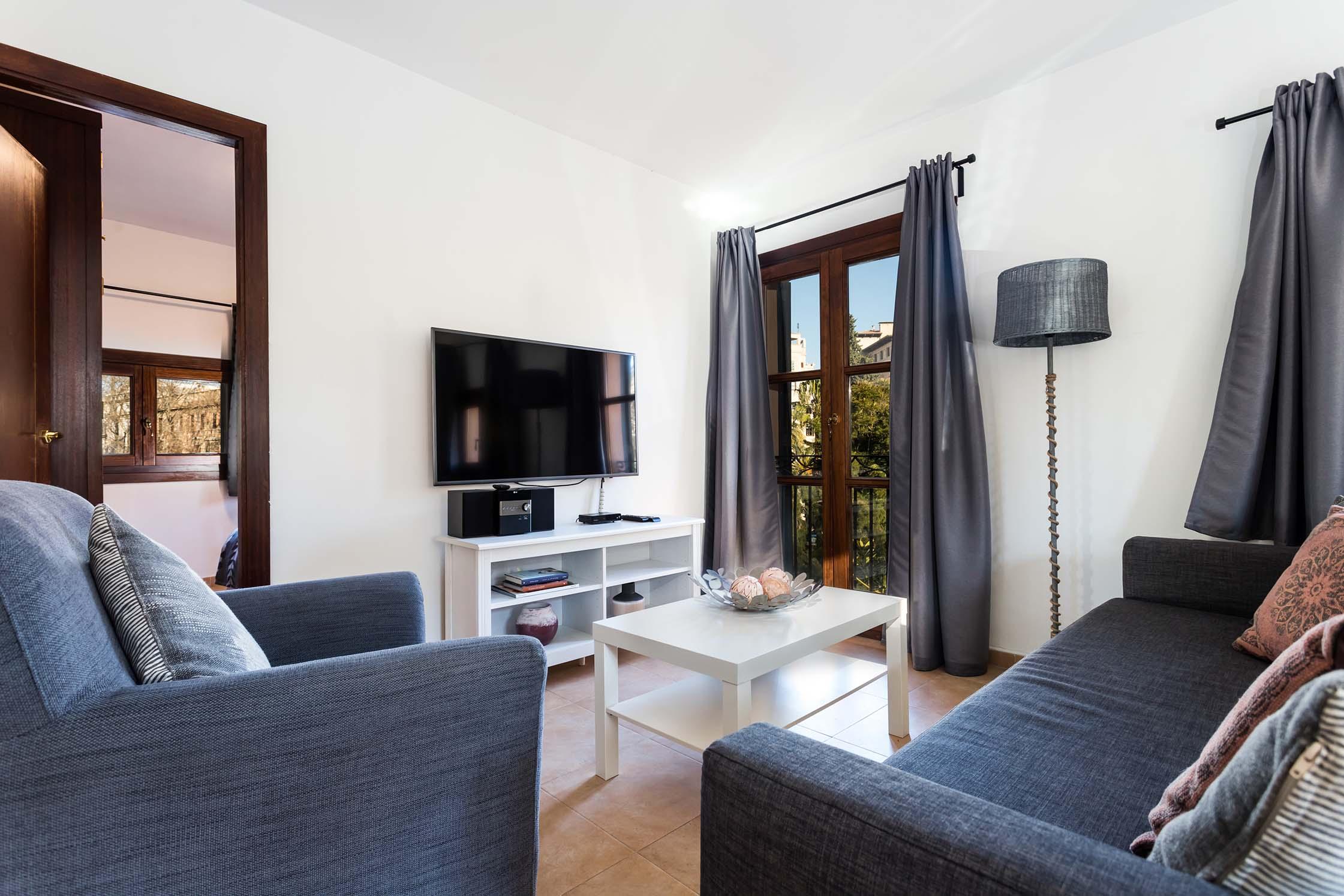 Borne-Suites-Apartamento-Ático-Terraza-Palma-de-Mallorca-Zona-de-Estar
