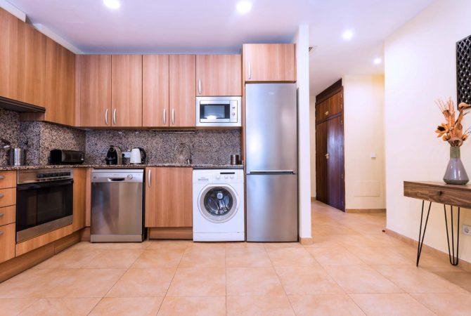 Borne-Suites-Apartamento-Deluxe-Palma-de-Mallorca-Cocina