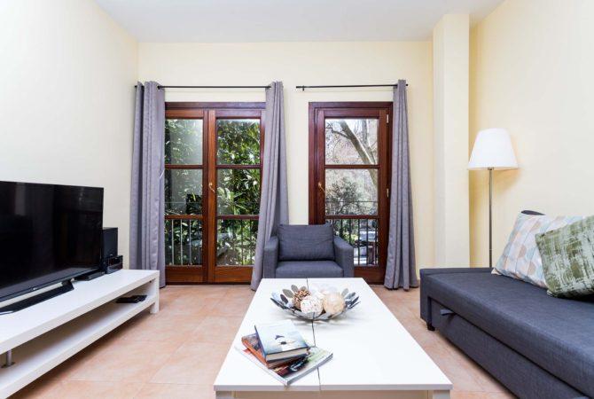 Borne-Suites-Apartamento-Deluxe-Palma-de-Mallorca-Sala-de-Estar-2
