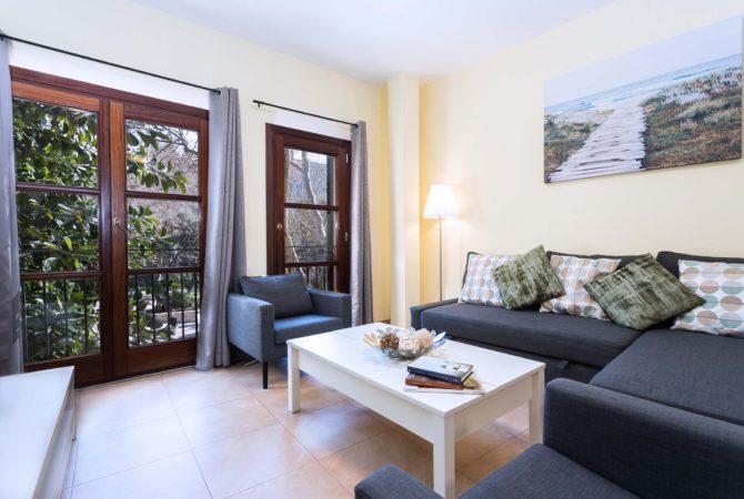 Borne-Suites-Apartamento-Deluxe-Palma-de-Mallorca-Sala-de-Estar