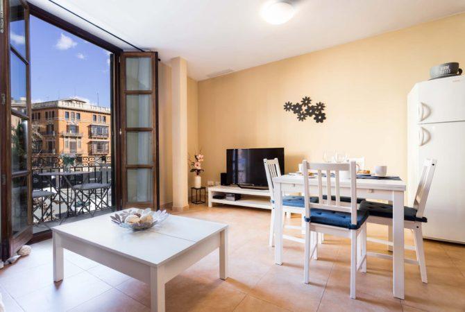 Borne-Suites-Apartamento-Superior-2-Pax-Palma-de-Mallorca-Sala-de-Estar-1