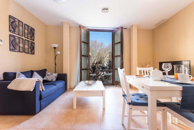 Borne-Suites-Apartamento-Superior-2-Pax-Palma-de-Mallorca-Sala-de-Estar