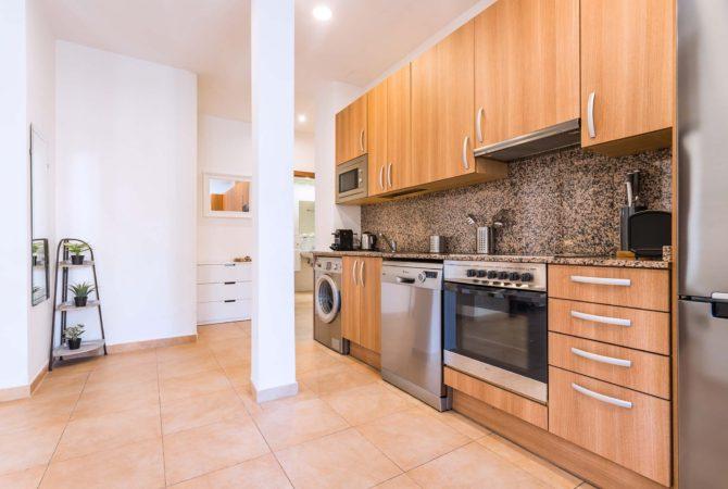 Borne-Suites-Apartamento-Superior-3-Pax-Palma-de-Mallorca-Cocina