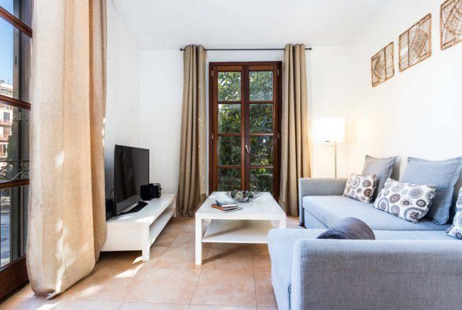 Borne-Suites-Apartamento-Superior-3-Pax-Palma-de-Mallorca-Sala-de-Estar
