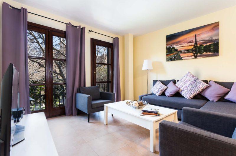 Borne-Suites-Apartamento-con-Terraza-Palma-de-Mallorca-Zona-de-Estar