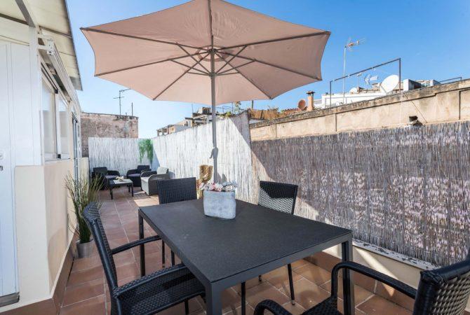 Mallorca-Suites-Apartamento-Superior-Terraza-Alquiler-Palma-de-Mallorca-Terraza-1