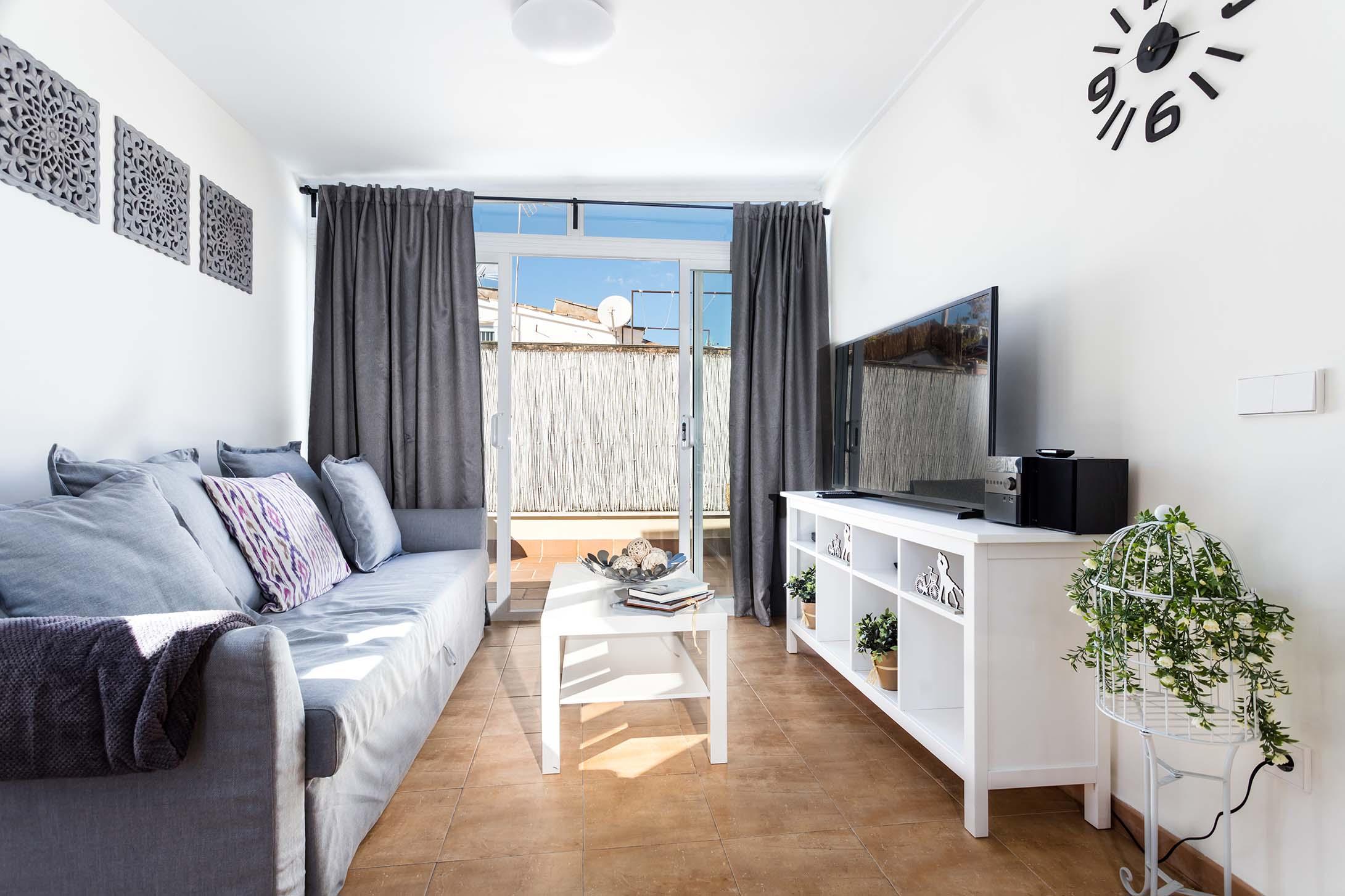 Mallorca-Suites-Apartamento-Superior-Terraza-Alquiler-Palma-de-Mallorca-Zona-de-estar