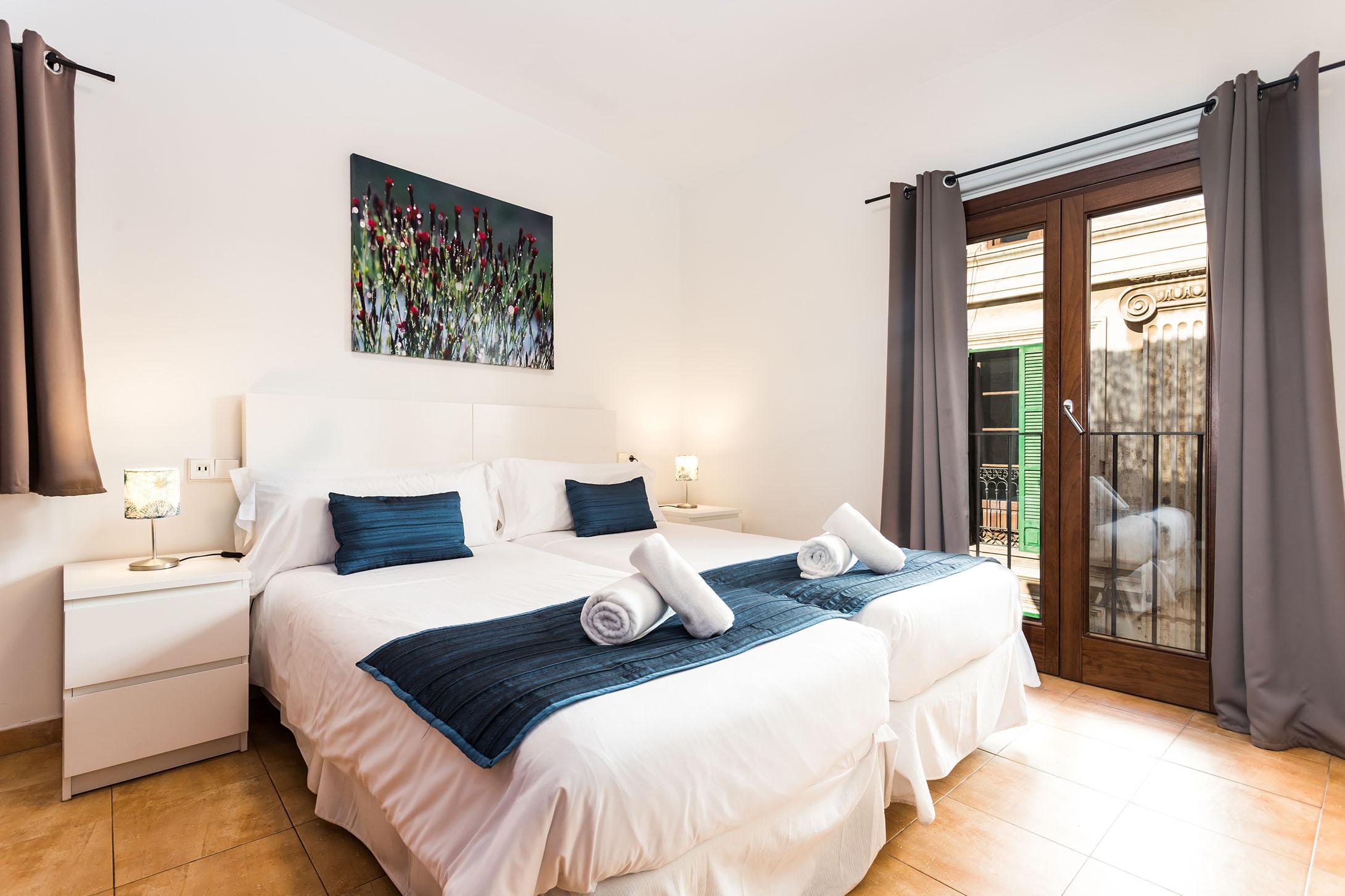 Mallorca-Suites-Apartamento-Terraza-Palma-de-Mallorca-Habitación-3